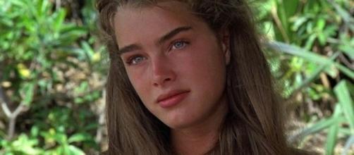 Brooke Shields atuando no clássico 'A Lagoa Azul'