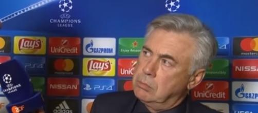 Carlo Ancelotti has been sacked. - Image - TIME 4 SPORT| YouTube