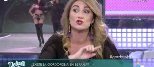 Carlota y su enfrentamiento con Jorge Javier.