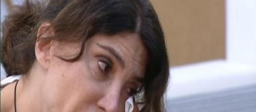 Carmen Di Pietro, le struggenti lacrime