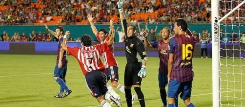 Chivas vs Barcelona 2011 (vía: sopitas.com)