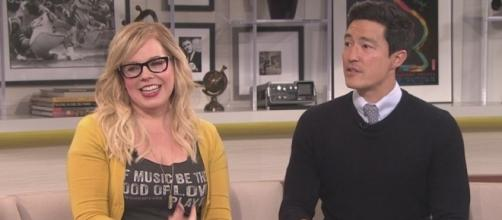 'Criminal Minds' stars Kirsten Vangsness, Daniel Henney (Image Credit: YouTube screencap / CBS Los Angeles)