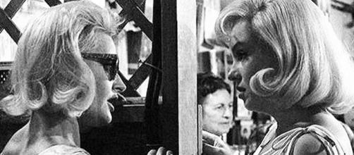 Evelyn Moriaty e Marilyn Monroe
