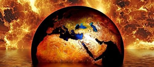 Free illustration: Earth, Globe, Water, Fire, Flame - Free Image ... - pixabay.com