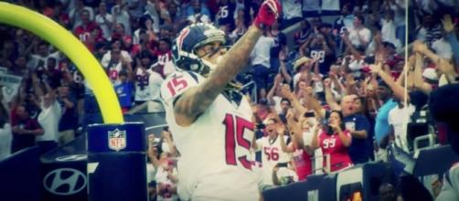 Houston Texans wide receiver Will Fuller will look to make a strong impact in his second NFL season - YouTube/visionary.