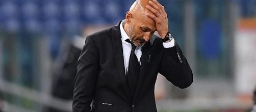 Inter, brutta tegola per Spalletti