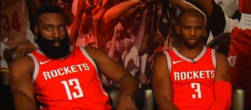 James Harden and Chris Paul (via YouTube - Ximo Pierto)