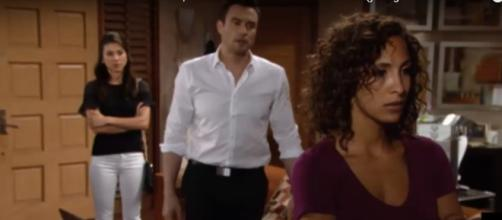 Lily files for divorce from Cane. [Image via Young & Restless /Youtube.com screencap]