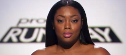 'Project Runway' model Liris Crosse/ Photo via Lifetime/YouTube screencap.