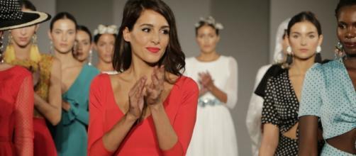 """Rocío Osorno en el desfile de su nueva colección """"Respiro"""""""