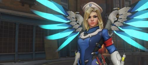 The new Mercy is overpowered. Image Credit: Blizzard Entertainment