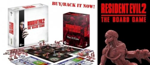 The 'Resident Evil 2' board game. (Image Credit: Where's Barry/YouTube)