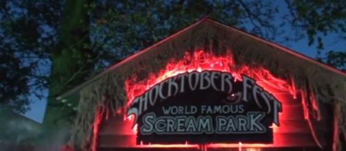 Tulleys Shocktoberfest Horror Theme Park, rides, horror actors, screams and scares. Sussex, England. -Image -MrFord4210| YouTube