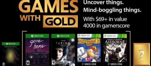 Xbox - October 2017 Games with Gold (Image Credit: YouTube/Xbox)