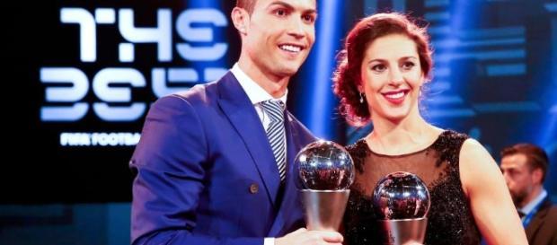 Cristiano Ronaldo ganador de THE BEST 2016