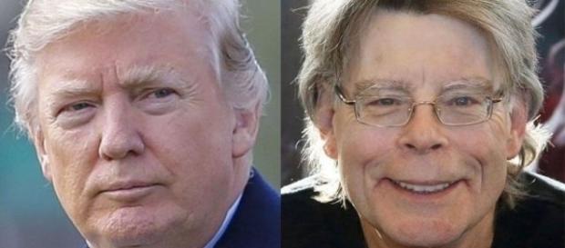 Donald Trump, Stephen King, via Mashable