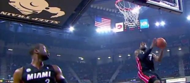 Dwayne Wade joins LeBron James in Cavaliers. Image-ESPN/YouTube