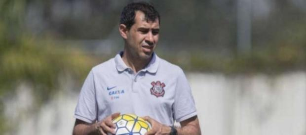 Fábio Carille técnico do Corinthians
