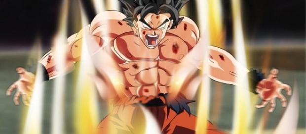 Goku's new form on 'Dragon Ball Super' - Image via YouTube/ExperGamez