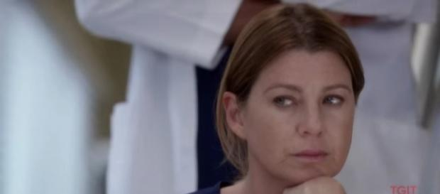 "Meredith and the others are now struggling to move forward after the hospital fire in ""Grey's anatomy"" Seaosn 14. (Source: Youtube/tvpromosdb)"