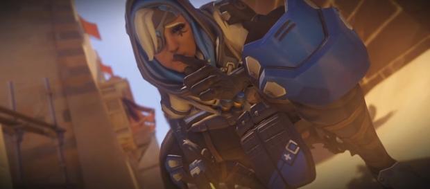 'Overwatch' hero Ana. (image Credit: YouTube/Odeghy)