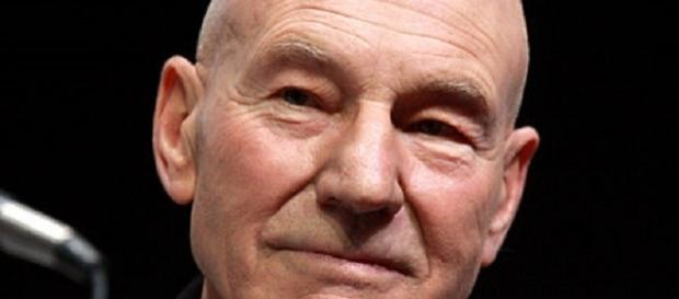 Patrick Stewart aka Jean-Luc Picard [Image by Gage Skimore / wikimedia commons]