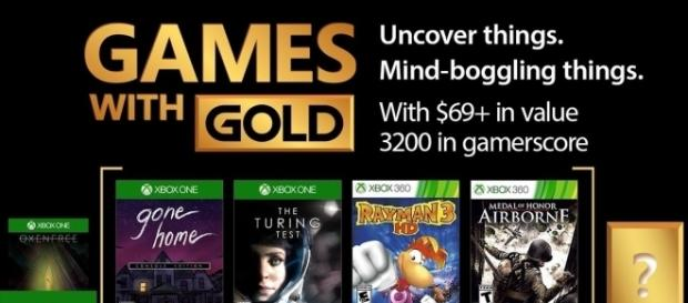 Xbox Games with Gold for October 2017 revealed. (Image Credit: Xbox/YouTube Screenshot)