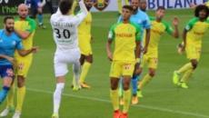 Football / Ligue 1 : Ciprian Tatarusanu (FC Nantes), le mur jaune, c'est lui.