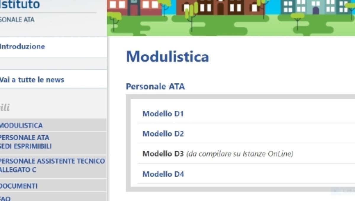 MODELLO D2 ATA 2017 SCARICARE