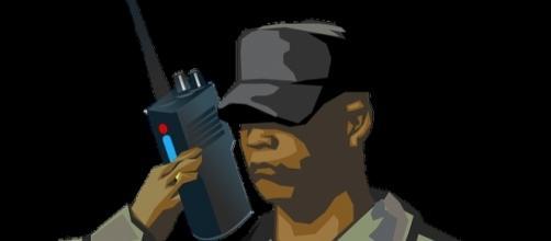 black serviceman of US armed forces. [Image via -pixabay.com/en/soldier-man-war-black-army-160419]