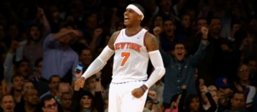 Carmelo Anthony is wondering why the trade to the Rockets did not happen -- NBA via YouTube