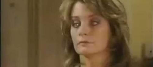 Days of our Lives Marlena's possession. [Image via YouTube screengrab/NBC]