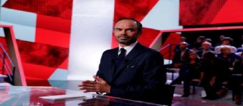 Edouard Philippe dans L'Emission Politique sur France 2. (Crédit : AFP)