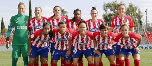 El Atlético de Madrid sumó su cuarta victoria consecutiva en el primer partido femenino presente en La Quiniela