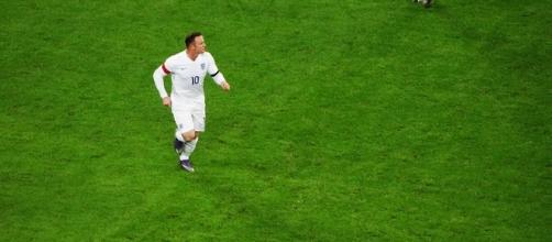 England striker Wayne Rooney (Photo via: Markos09/Wikimedia Commons)