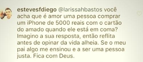 Filho de Marcelo Rezende desativou os comentários para fotos mais importantes