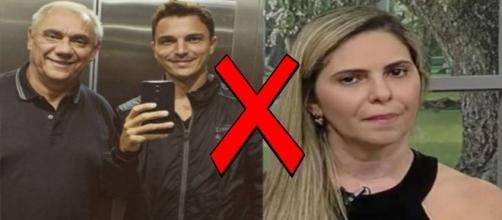 Filho do jornalista acusa namorada do pai