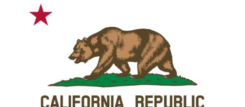 Flag of California [Image by Devin Cook/Wikimedia Commons]