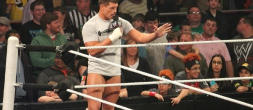 Former WWE star Cody Rhodes was part of an impromptu gathering before a WWE Raw show in Canada/ photo by Mega Elice Meadows/ Flickr