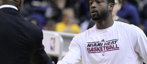 Given the choice, Dwyane Wade would love to retire as a Miami Heat/ photo by Keith Allison/ Flickr