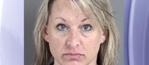 Heather Lee Robertson; (Image Credit: Photo via Angelina County Jail)