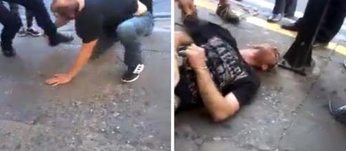 Homem foi nocauteado após enfrentar guarda municipal