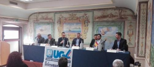 La conferenza dell'UGL sul CETA presso il Palazzetto delle Carte Geografiche
