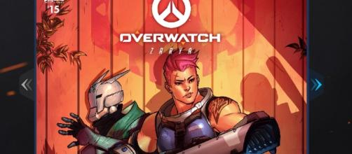 Lynx Seventeen and Zarya - YouTube/Hammeh - Overwatch (FailCraft)