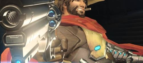 'Overwatch' hero McCree. (image source: YouTube/Overwatch)