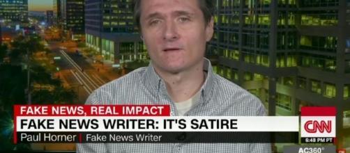 Paul Horner in un'intervista alla CNN