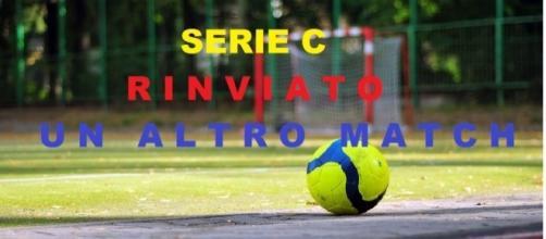 Rinviato un altro match della Serie C.