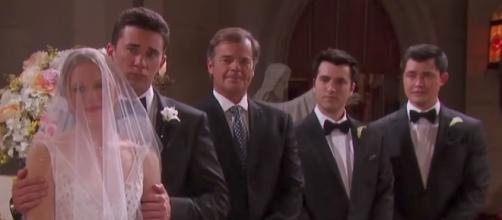 The big 'Days of Our Lives' wedding has a surprise attendee - Image via YouTube screenshot