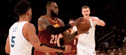 The Cavaliers' LeBron James will get less rest in the 2017-18 NBA season. (Image Credit: NBA/YouTube)