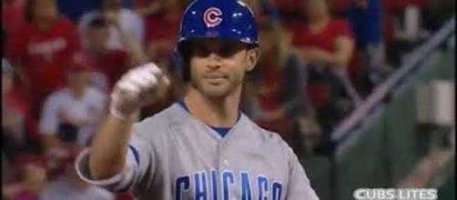 The Chicago Cubs host the Cincinnati Reds in early afternoon MLB action Friday. [Image via MLB/YouTube]
